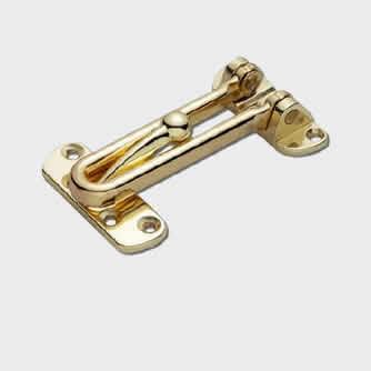 Security Door Guard Gold