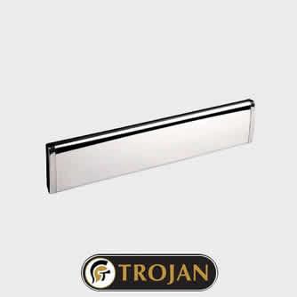 Trojan Letterplate Chrome