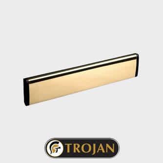 Trojan Letterplate Gold